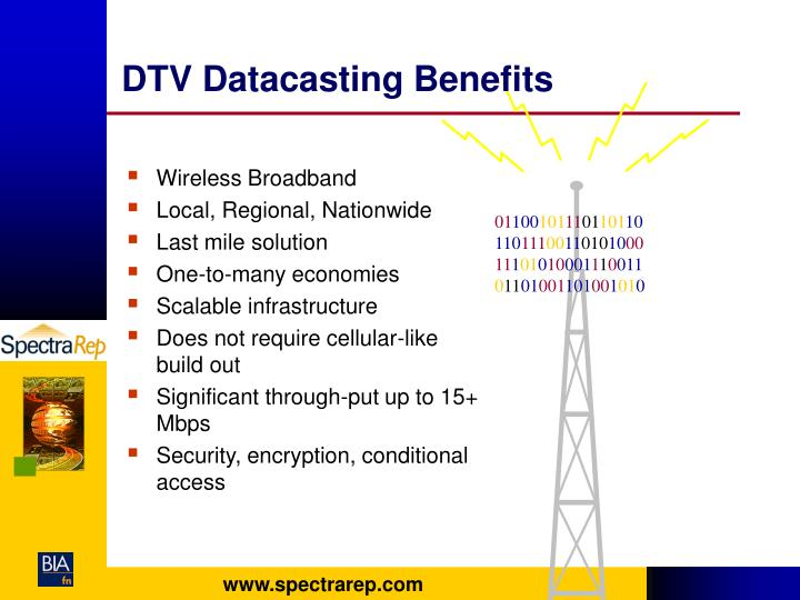 DTV Datacasting Benefits