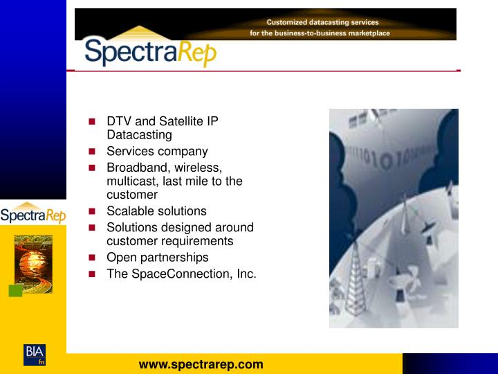 DTV and Satellite IP Datacasting