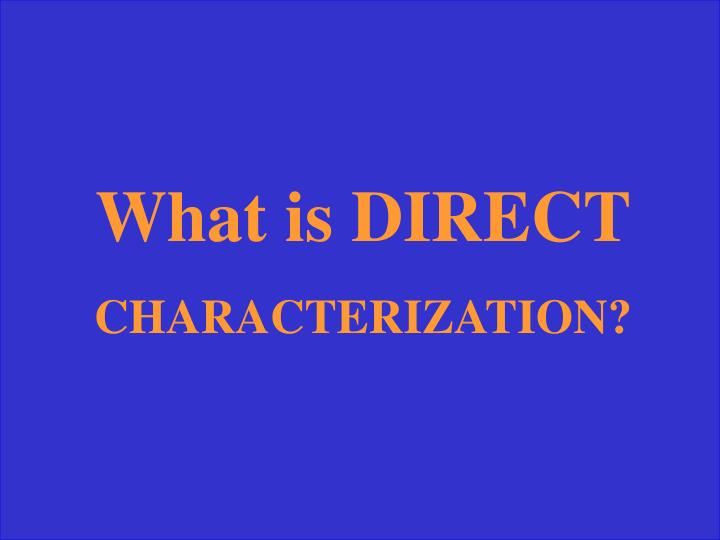 What is DIRECT