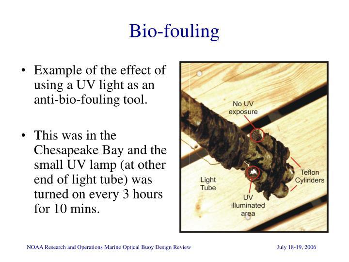 Bio-fouling