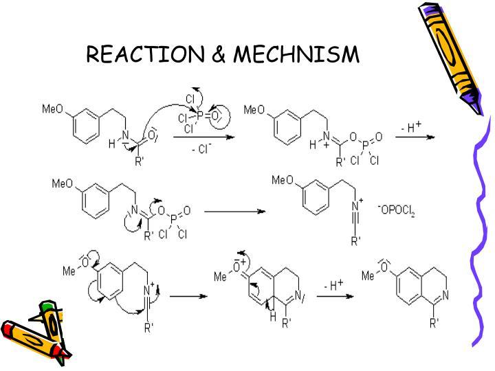REACTION & MECHNISM