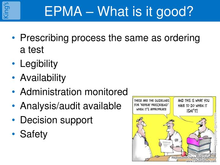 EPMA – What is it good?