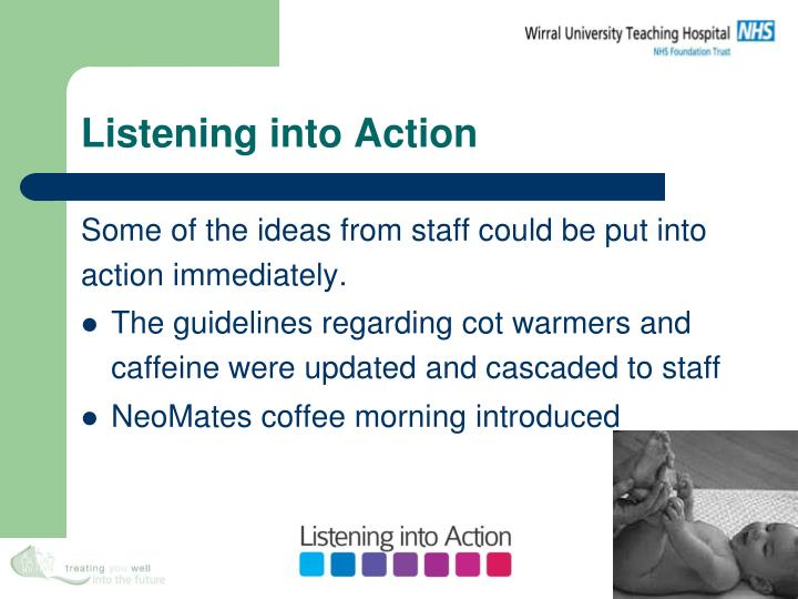 Listening into Action