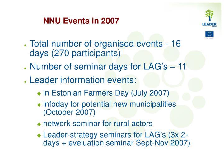 NNU Events