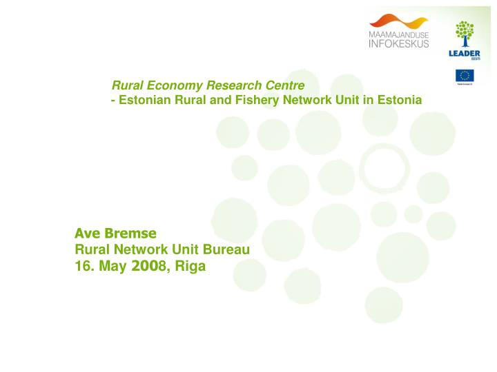 Rural Economy Research Centre