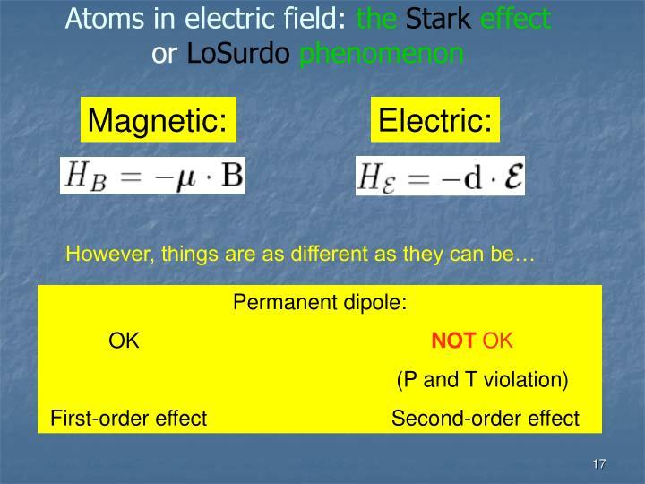 Electric: