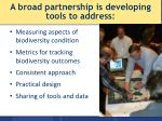 a broad partnership is developing tools to address