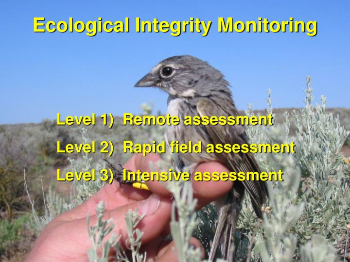 Ecological Integrity Monitoring