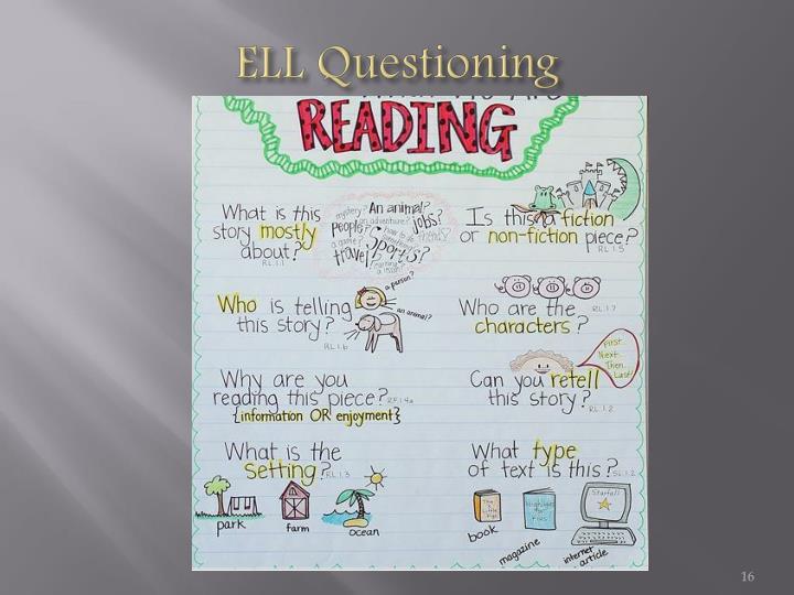 ELL Questioning
