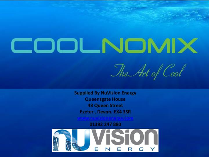 Supplied By NuVision Energy