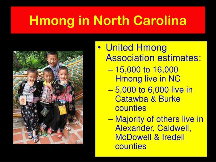 Hmong in North Carolina
