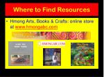 where to find resources
