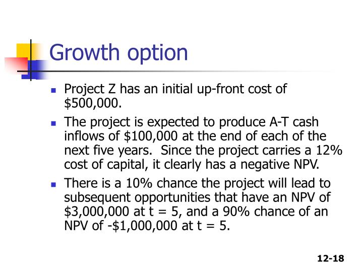 Growth option