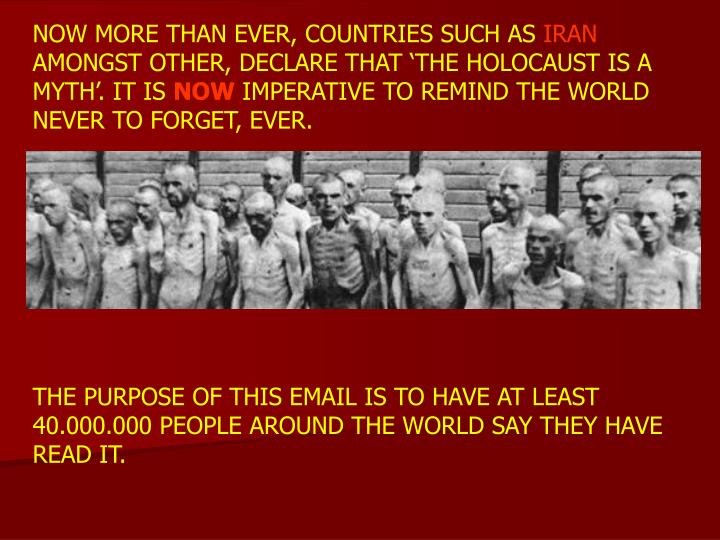 NOW MORE THAN EVER, COUNTRIES SUCH AS