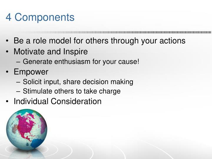 4 Components