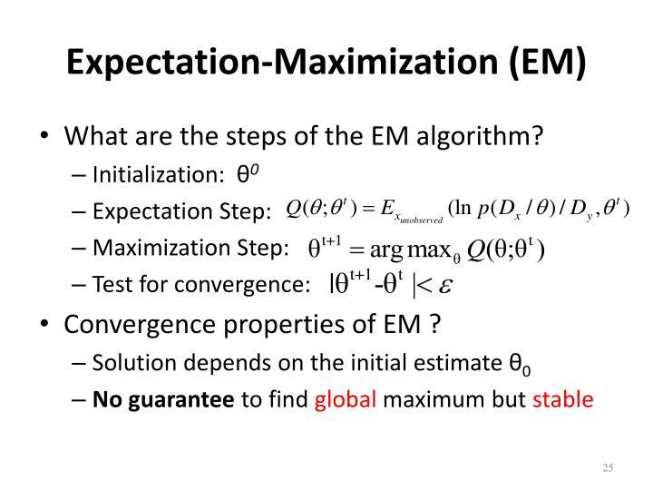 Expectation-Maximization (EM)