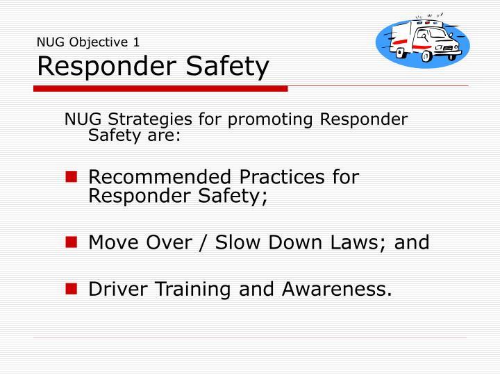 NUG Objective 1