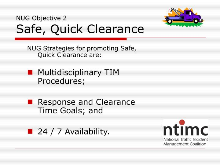 NUG Objective 2