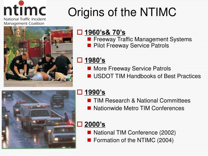 Origins of the NTIMC