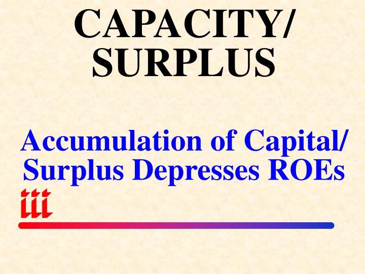 CAPACITY/