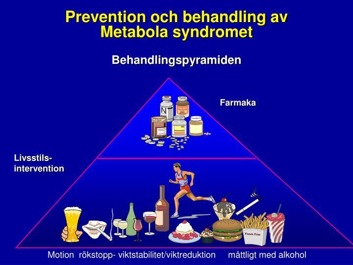 Prevention och behandling av
