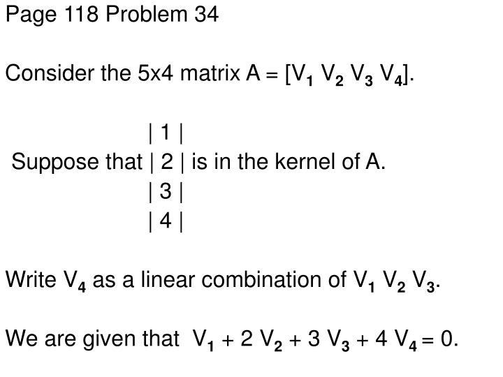 Page 118 Problem 34