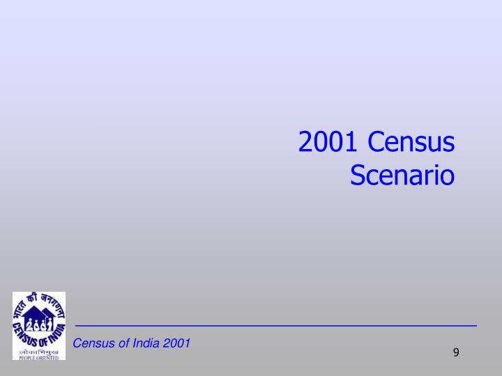 2001 Census Scenario