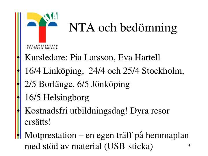 NTA och bedömning
