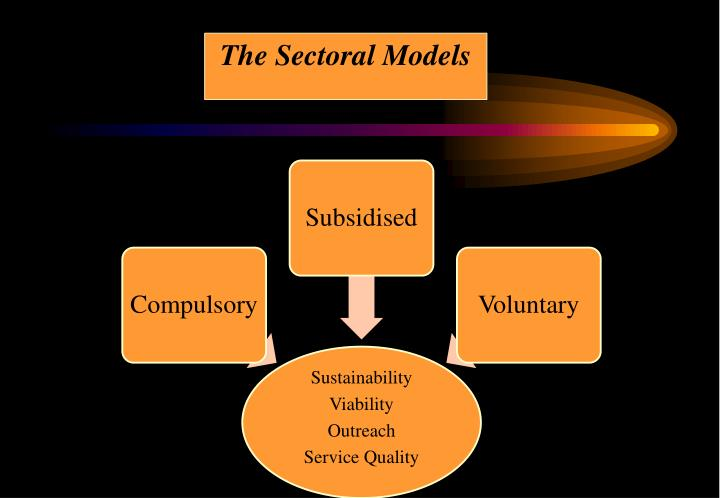 The Sectoral Models