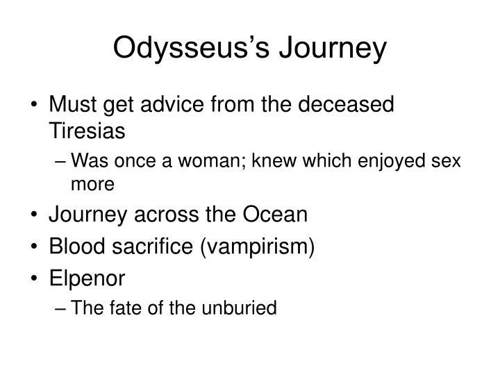 Odysseus's Journey