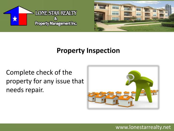 Property Inspection