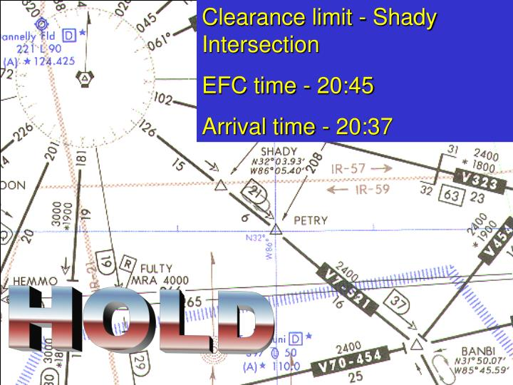 Clearance limit - Shady Intersection