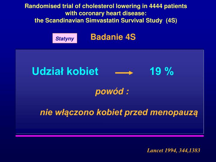 Randomised trial of cholesterol lowering in 4444 patients