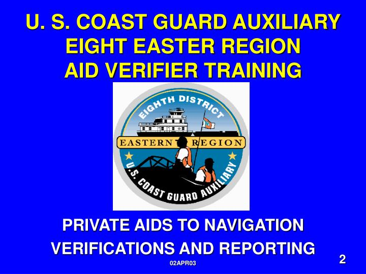 U. S. COAST GUARD AUXILIARY