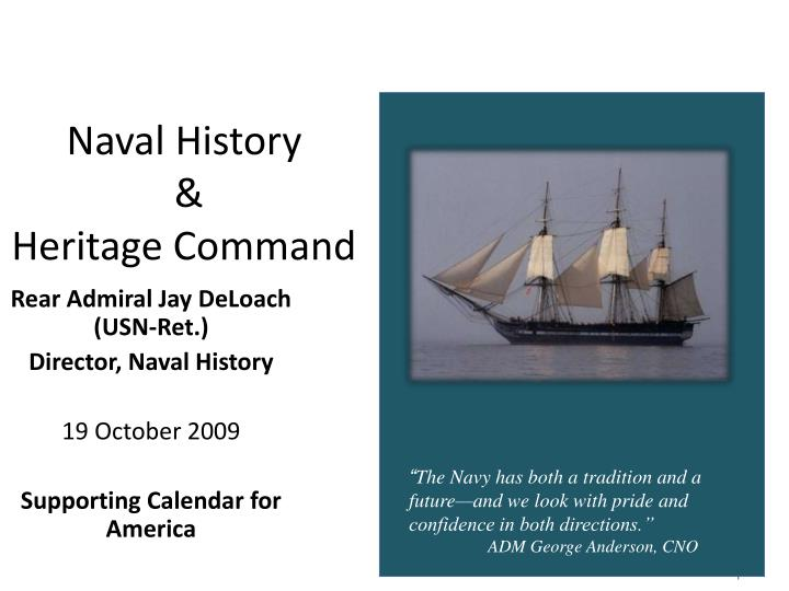 Naval history heritage command