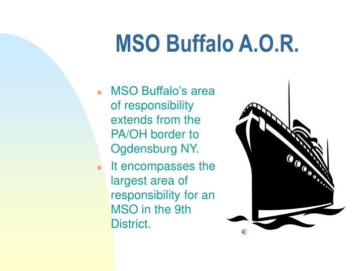 MSO Buffalo A.O.R.