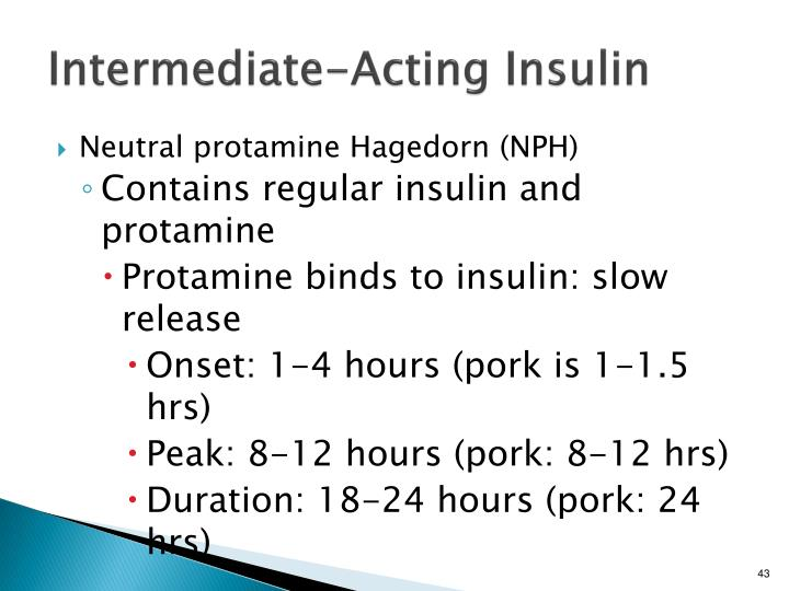 Intermediate-Acting Insulin