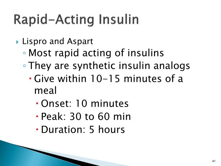 Rapid-Acting Insulin