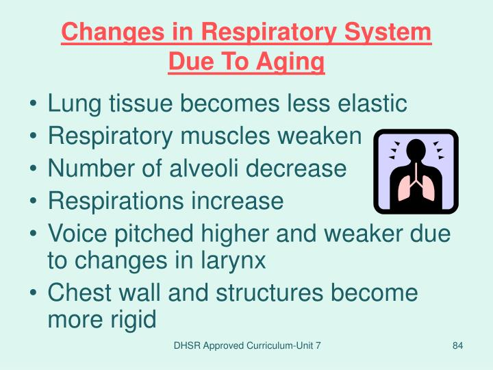 Changes in Respiratory System