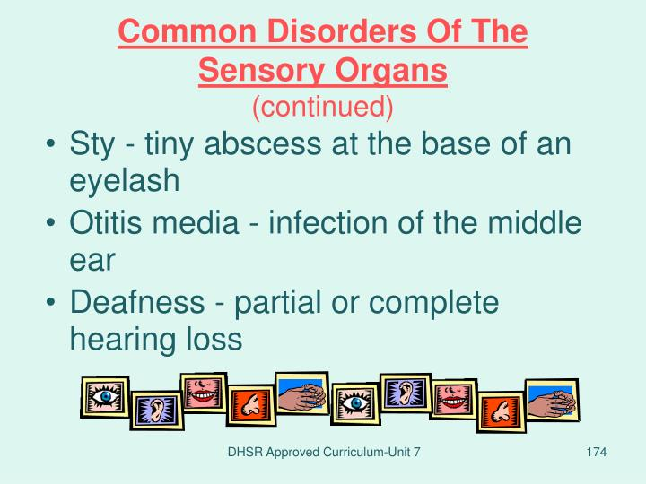 Common Disorders Of The