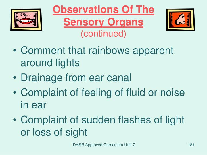 Observations Of The