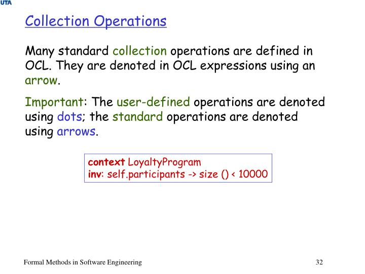 Collection Operations