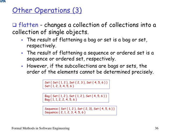 Other Operations (3)