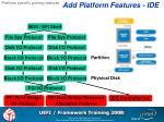 add platform features ide