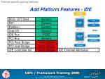 add platform features ide1