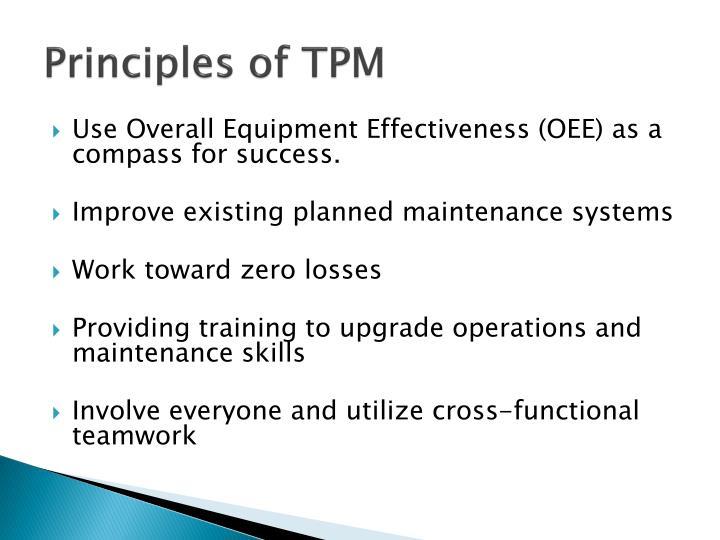 Principles of TPM