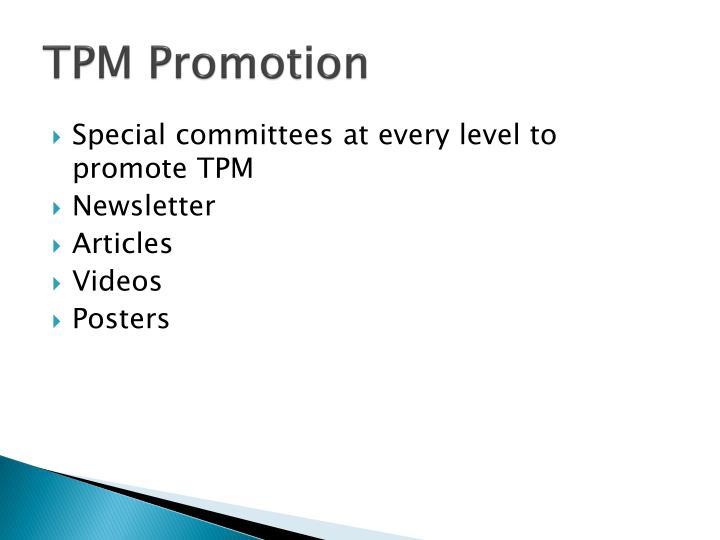 TPM Promotion
