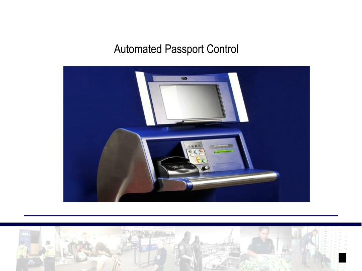 Automated Passport