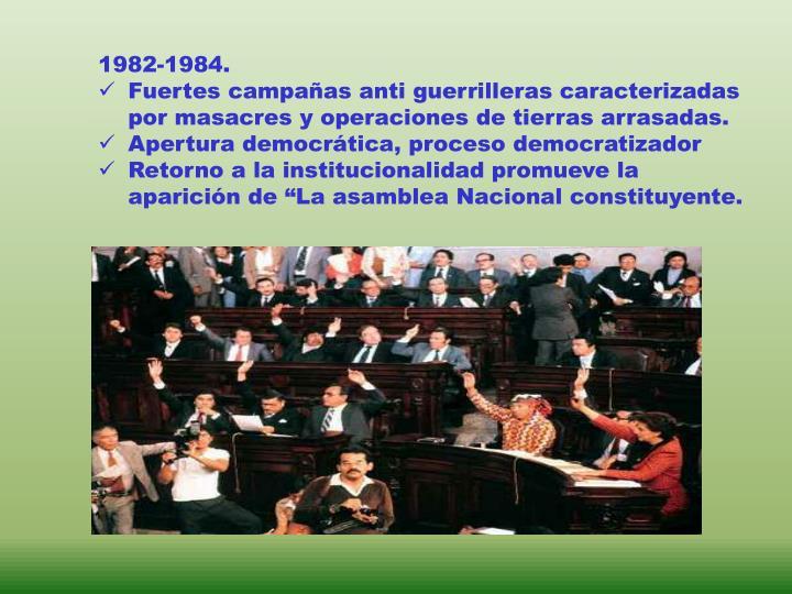 1982-1984.