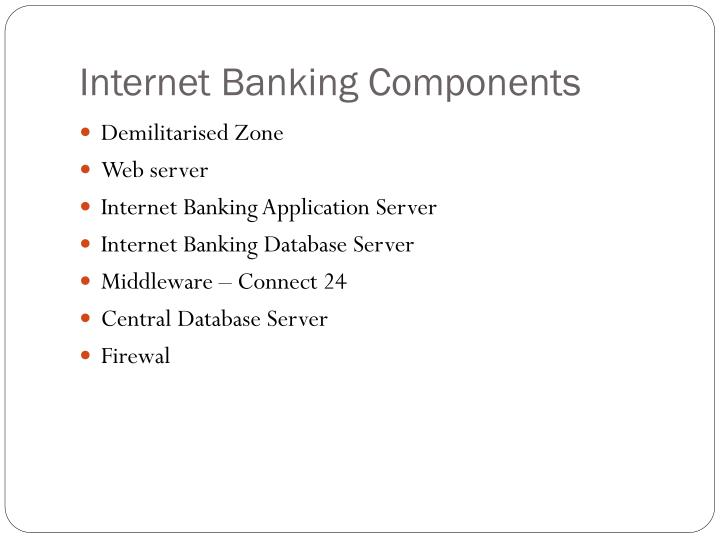 Internet Banking Components